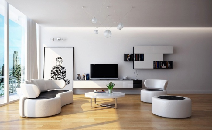 Modern-Calssic-Living-Room-Design